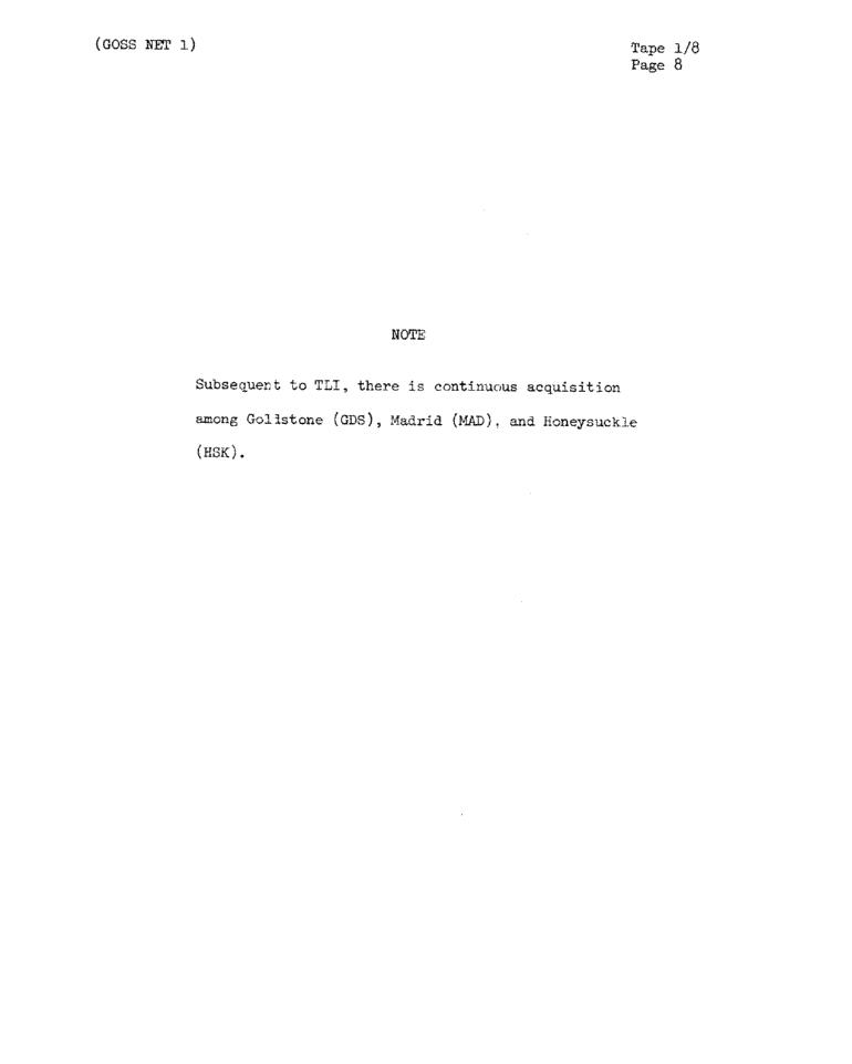 Page 10 of Apollo 11's original transcript