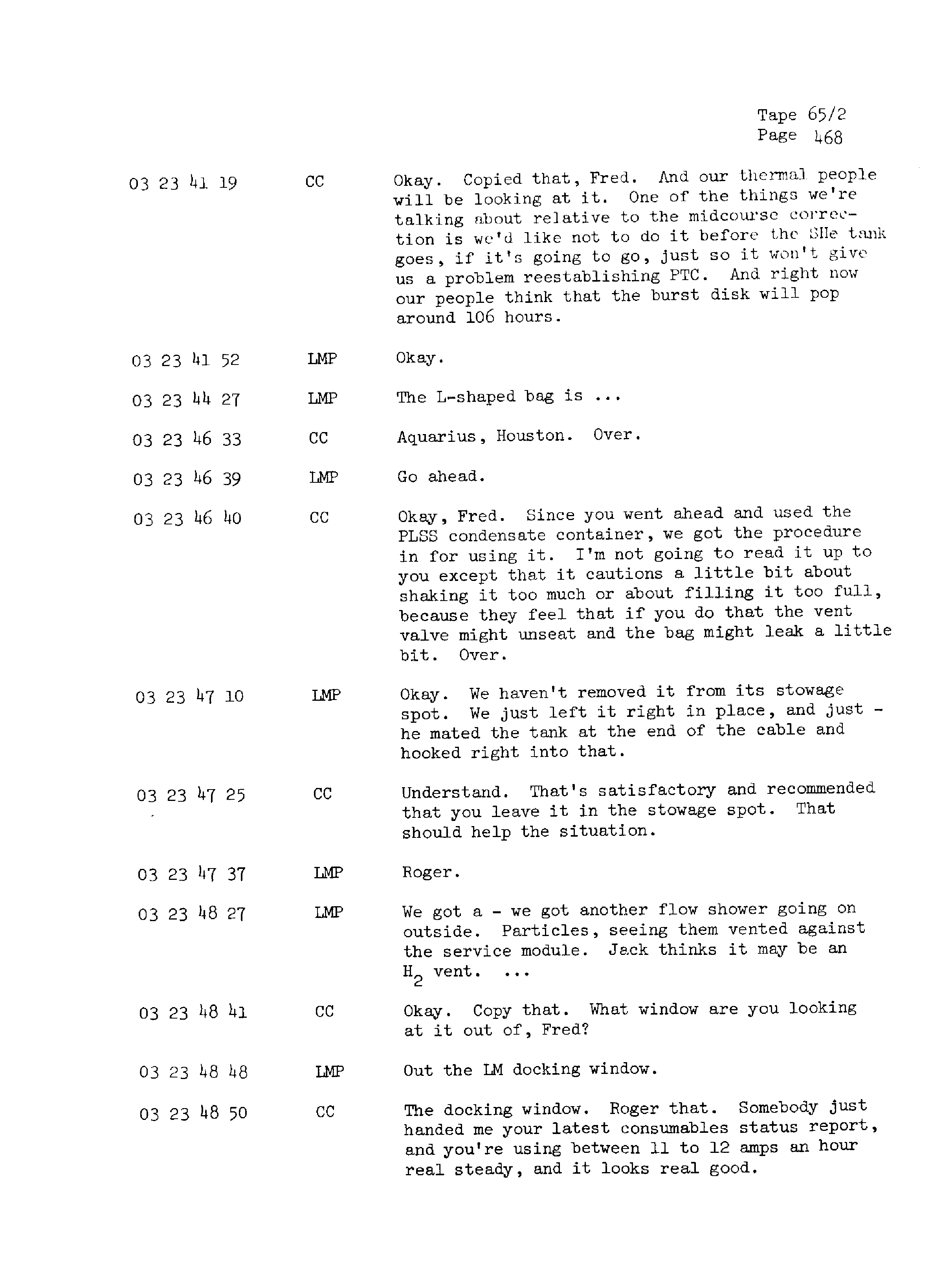 Page 475 of Apollo 13's original transcript
