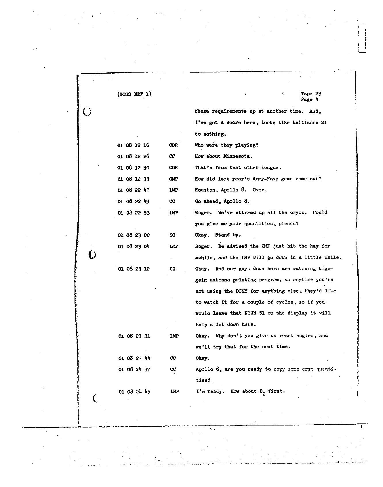 Page 180 of Apollo 8's original transcript