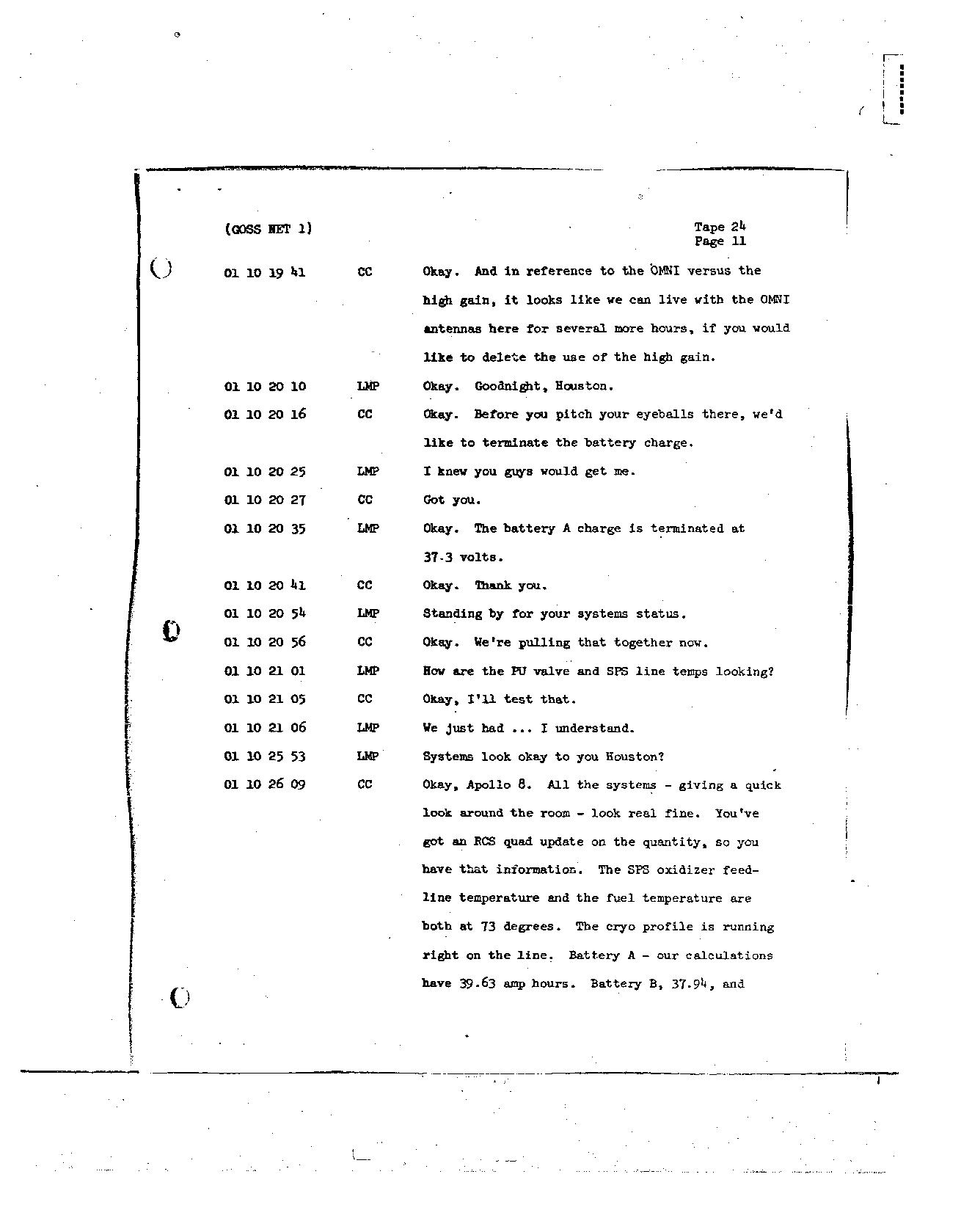 Page 196 of Apollo 8's original transcript