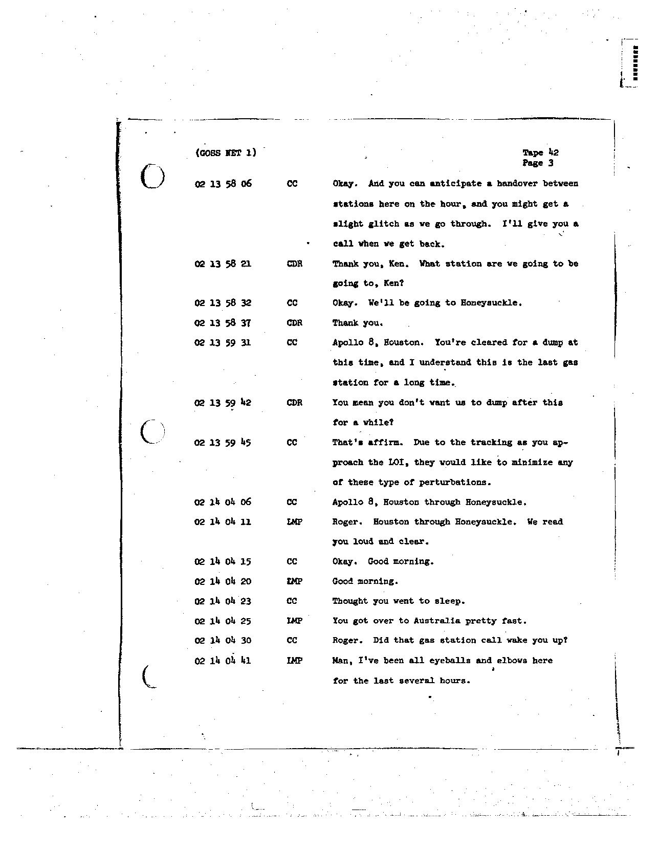 Page 325 of Apollo 8's original transcript