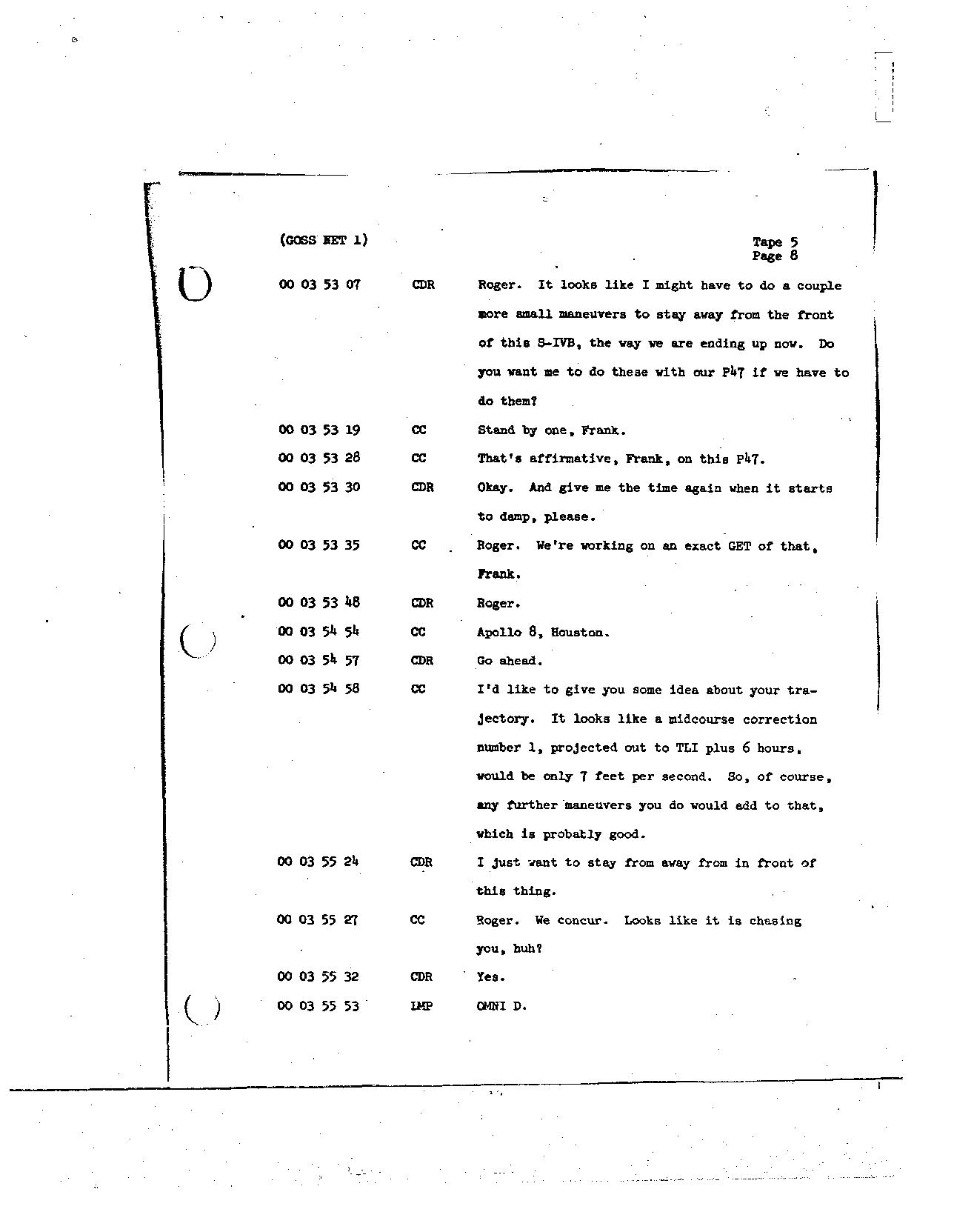 Page 34 of Apollo 8's original transcript
