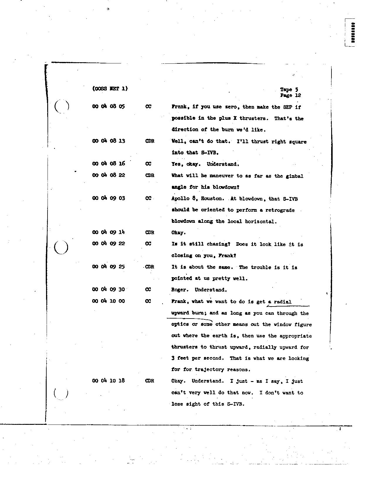 Page 38 of Apollo 8's original transcript