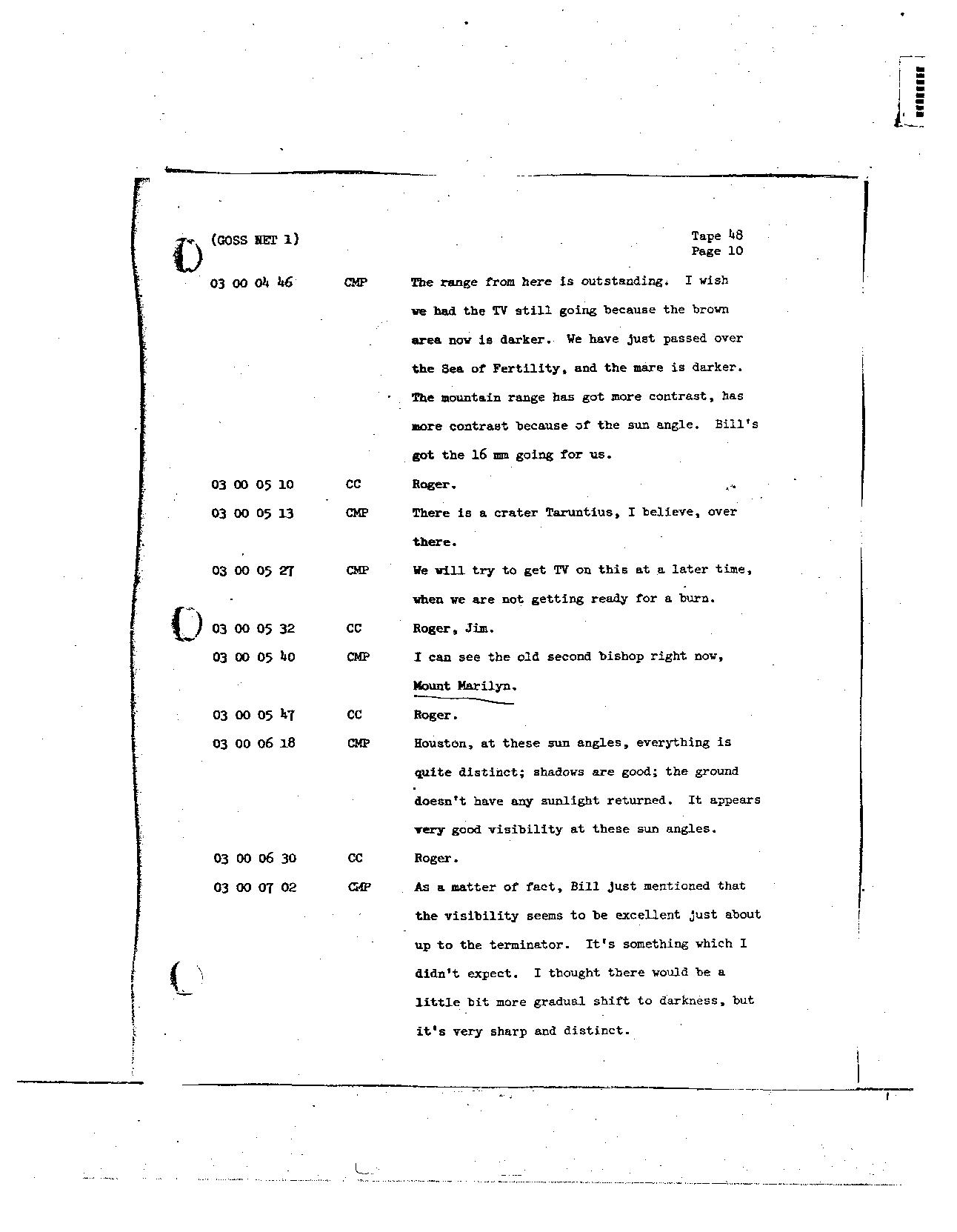 Page 382 of Apollo 8's original transcript