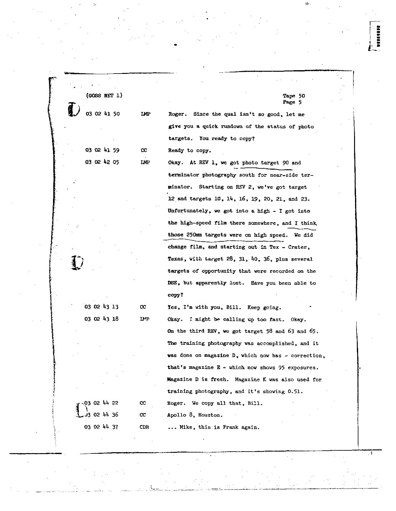 Page 397 of Apollo 8's original transcript