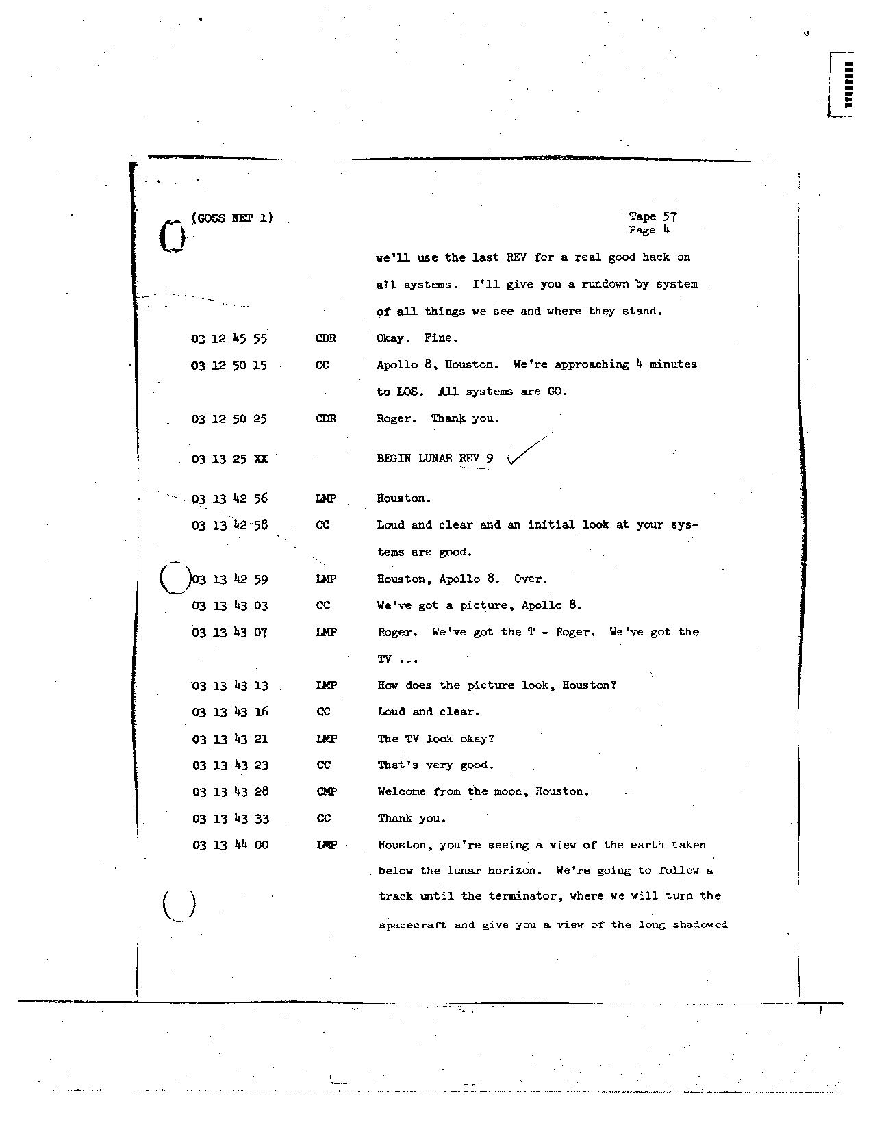 Page 453 of Apollo 8's original transcript