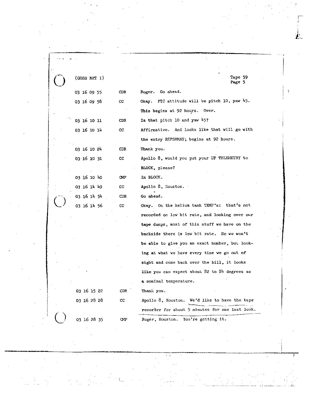 Page 474 of Apollo 8's original transcript