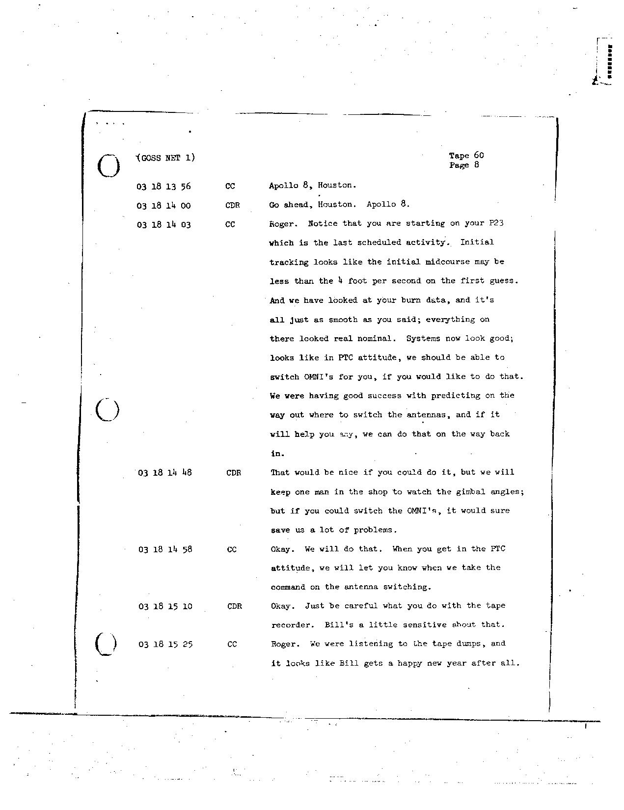 Page 483 of Apollo 8's original transcript