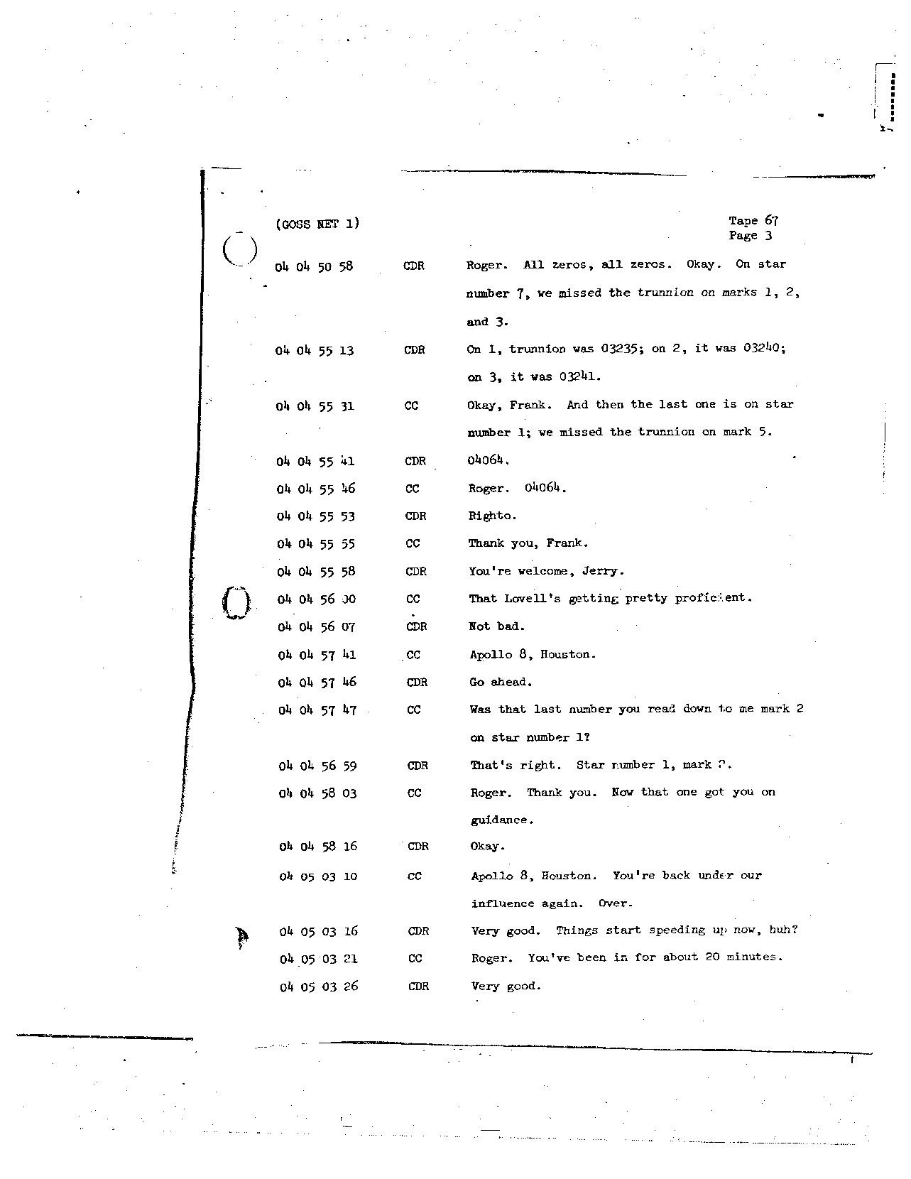 Page 529 of Apollo 8's original transcript