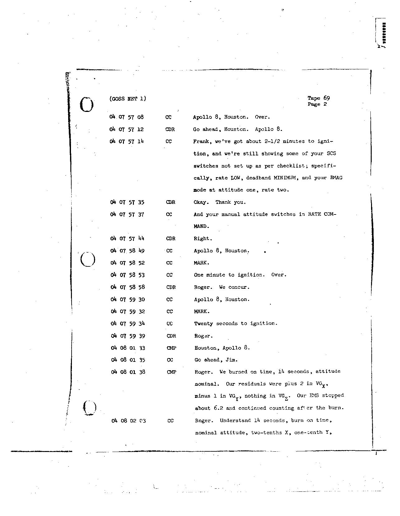 Page 548 of Apollo 8's original transcript