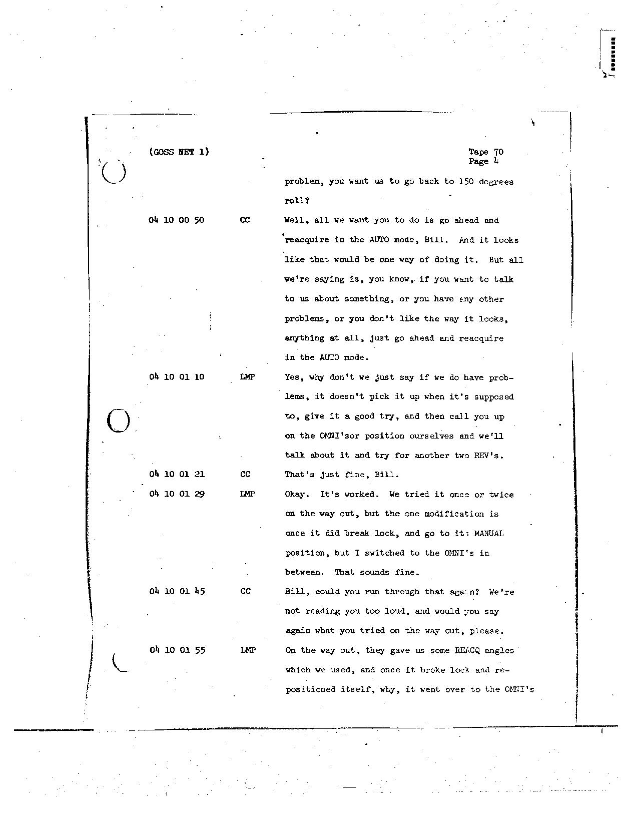 Page 562 of Apollo 8's original transcript