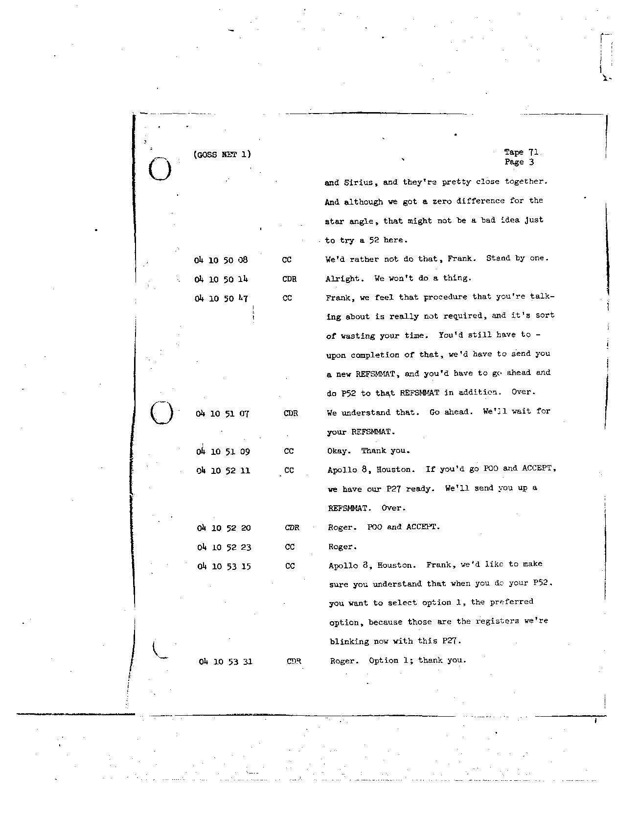 Page 566 of Apollo 8's original transcript