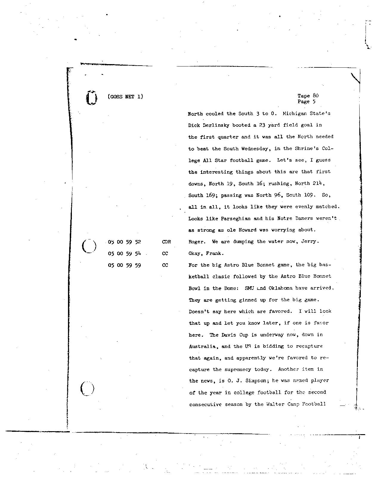 Page 662 of Apollo 8's original transcript