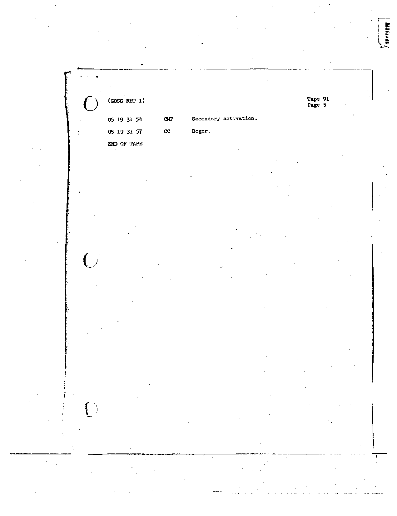 Page 730 of Apollo 8's original transcript